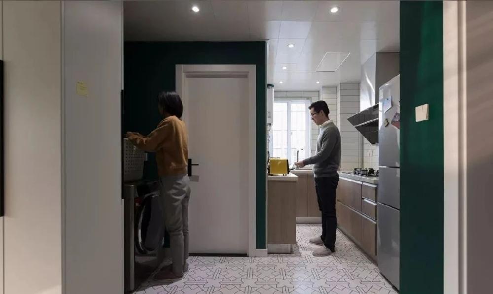 半包3.3万60平老房秒变时尚复古小公寓12111688