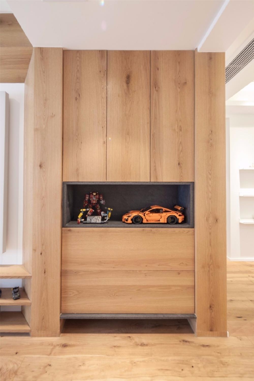 现代舒适,鞋柜+电视墙组合一起实用大气12122619