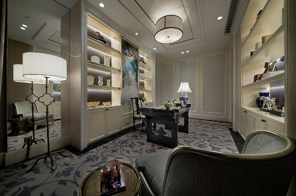 海上五月花120平 三室两厅 新中式风格12116288