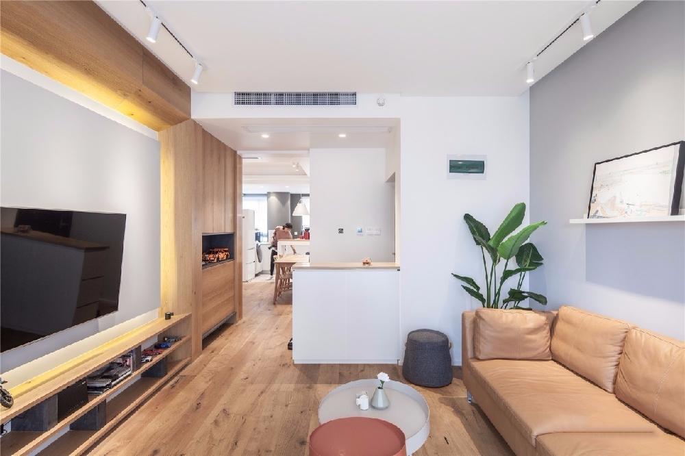 现代舒适,鞋柜+电视墙组合一起实用大气12122620