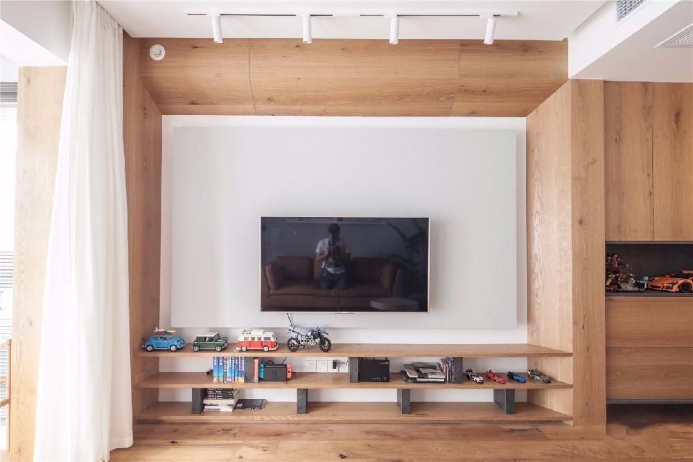 现代舒适,鞋柜+电视墙组合一起实用大气12122622