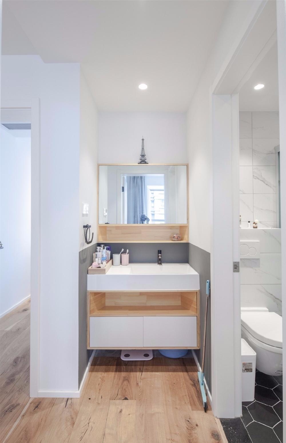 现代舒适,鞋柜+电视墙组合一起实用大气12122633