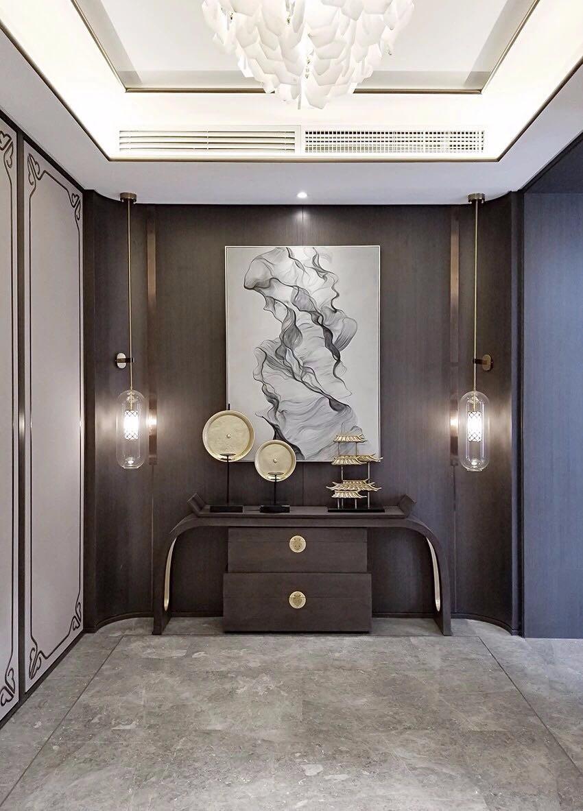 新中式家居設計摒棄呆板沉悶,加入現代風12149365