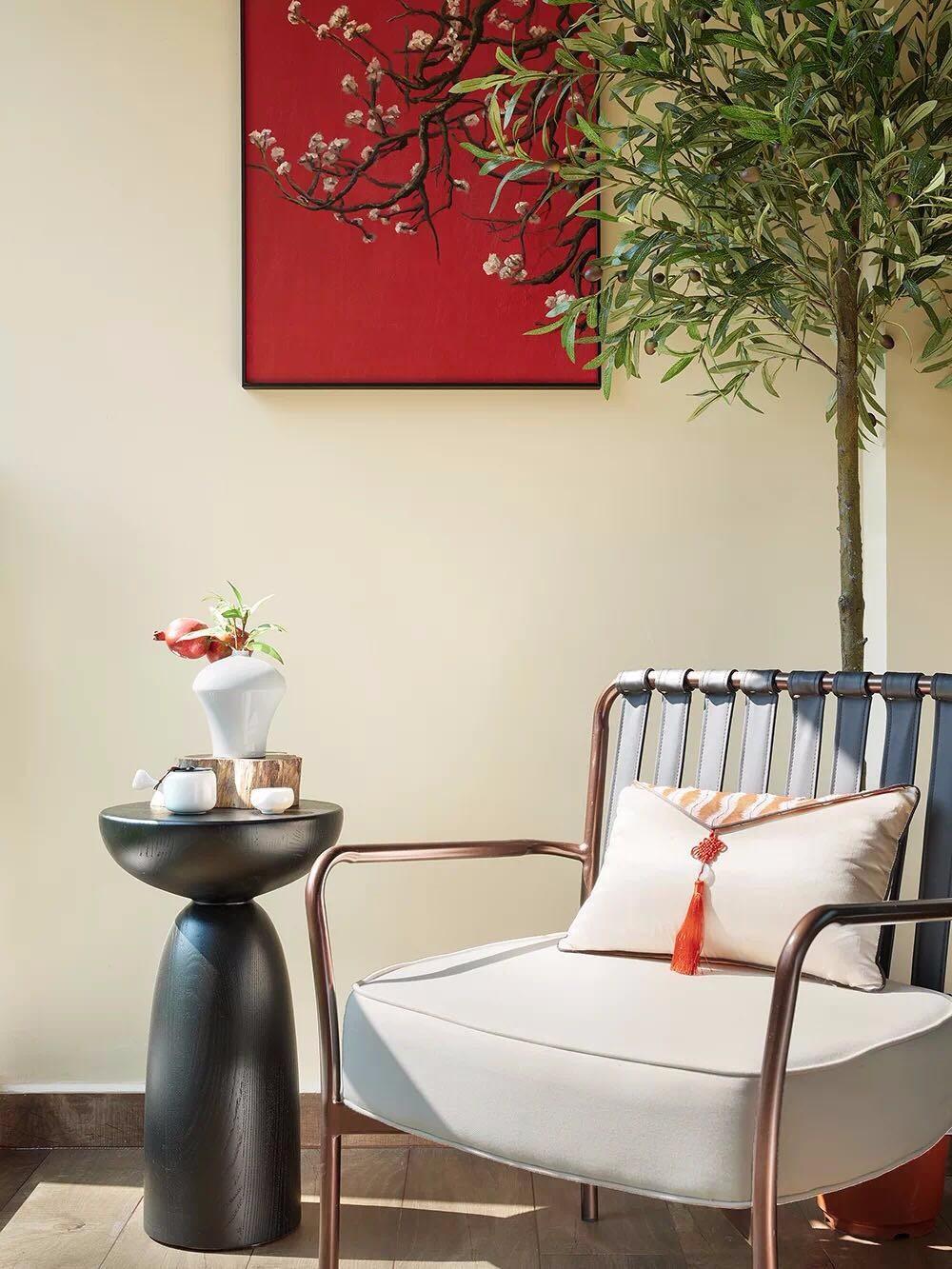 新中式家居設計摒棄呆板沉悶,加入現代風12149359