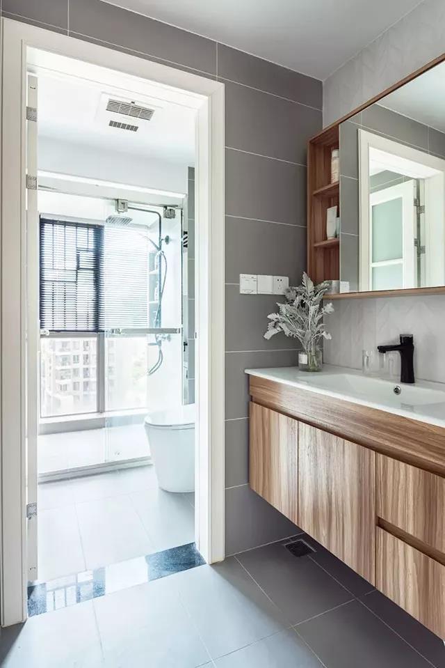 90平三室婚房,老公非要把洗衣机放走廊12171987