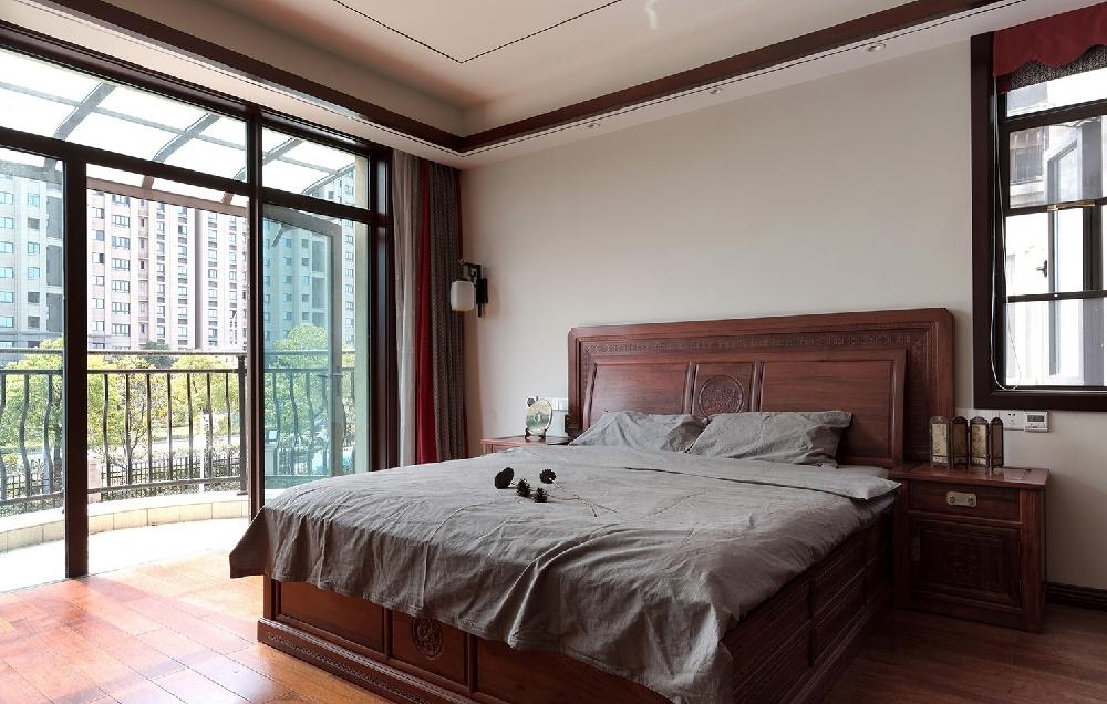 260平方中式风格设计红木家具搭配设计12234749