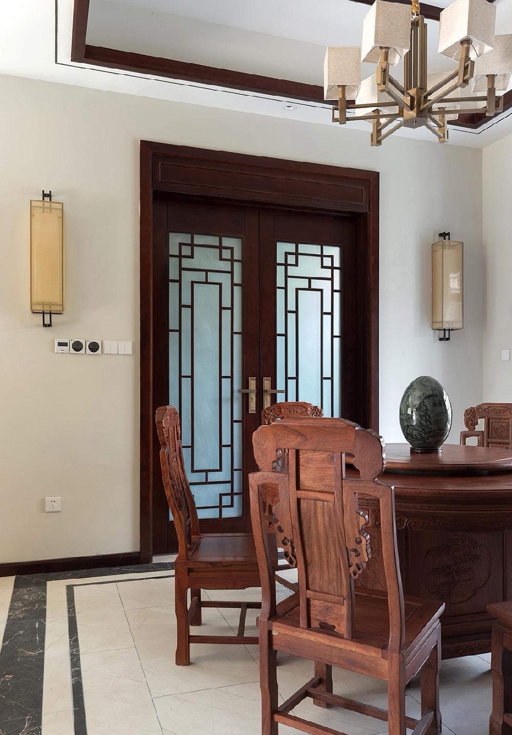 260平方中式風格設計紅木家具搭配設計12234746