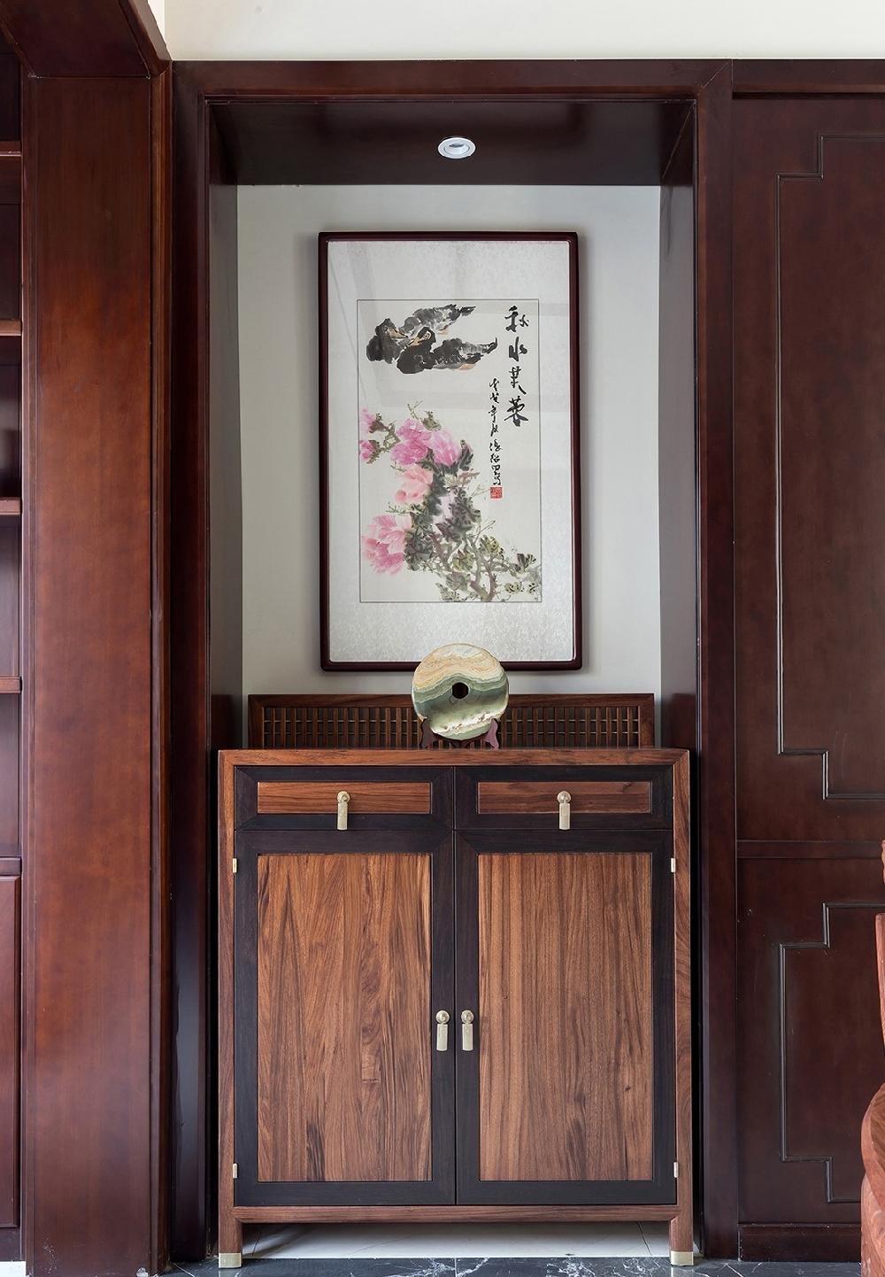 260平方中式风格设计红木家具搭配设计12234748