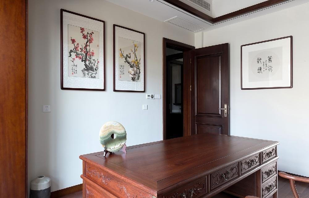 260平方中式风格设计红木家具搭配设计12234752