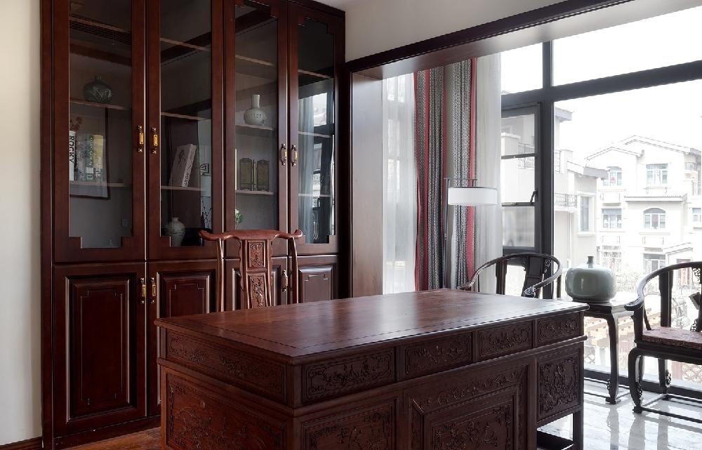 260平方中式风格设计红木家具搭配设计12234750