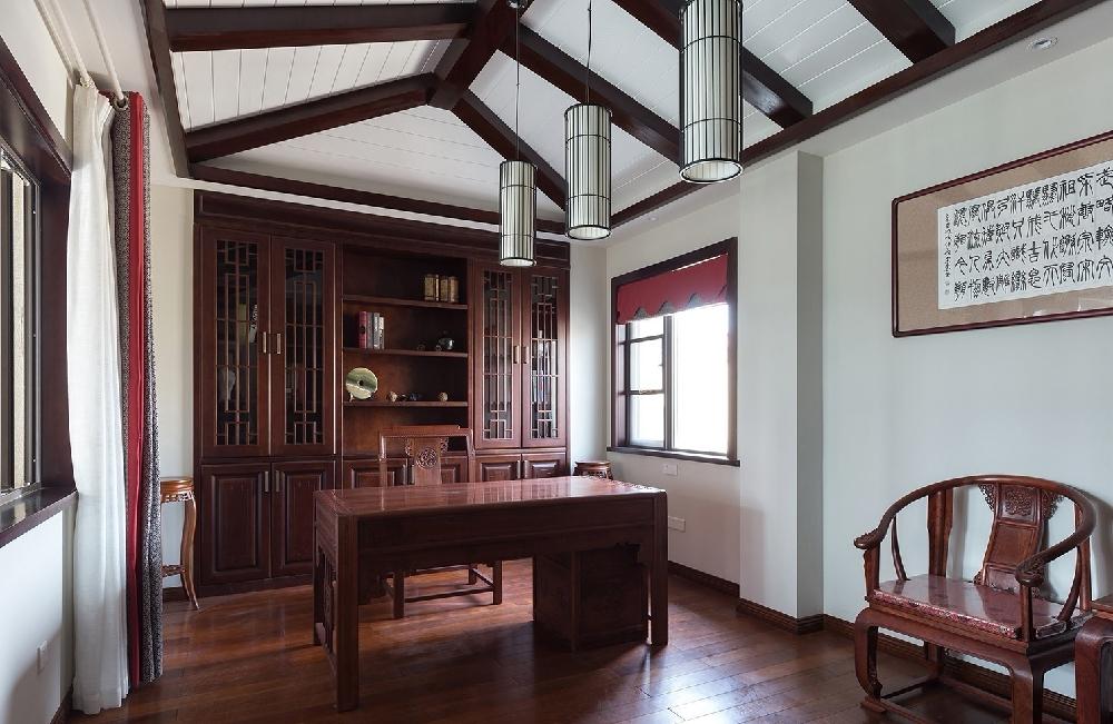 260平方中式风格设计红木家具搭配设计12234751