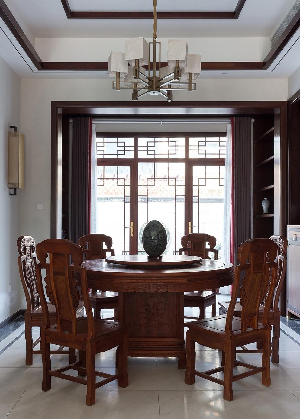 260平方中式风格设计红木家具搭配设计12234743