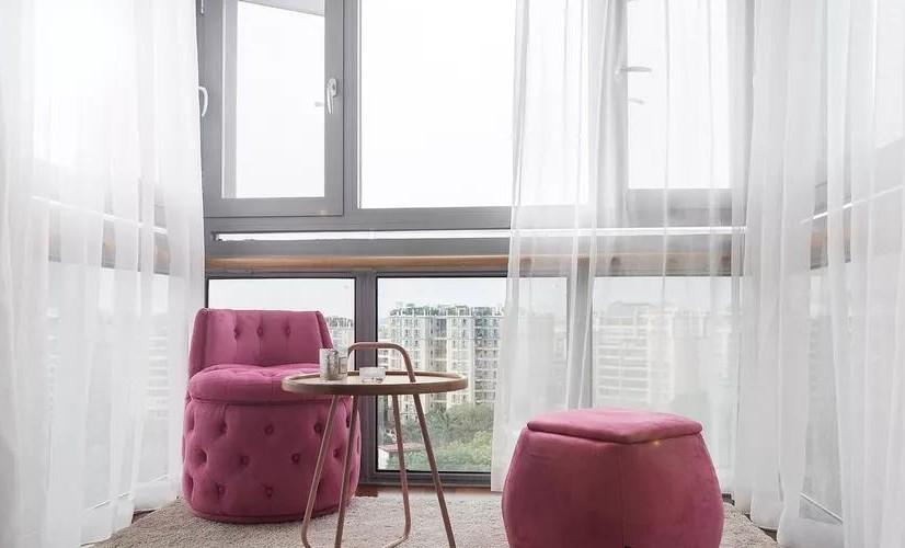 北欧混搭风三居室,卧室带个小阳台12270369