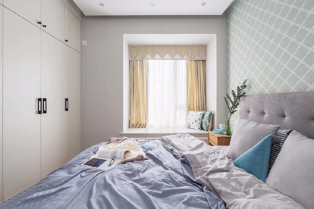 榻榻米床+衣柜,小卧室秒变三用房12361339