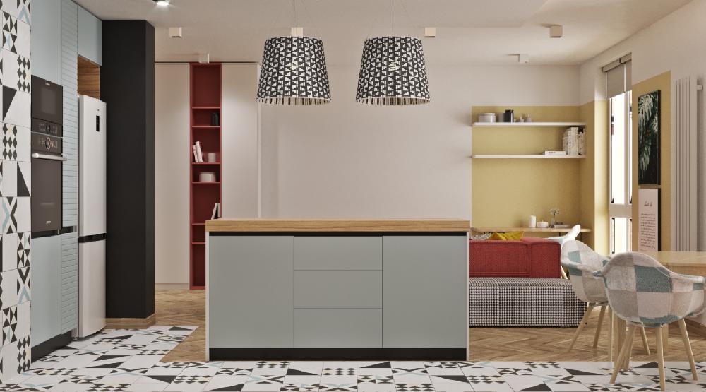 北歐風極簡主義公寓 的設計12425818