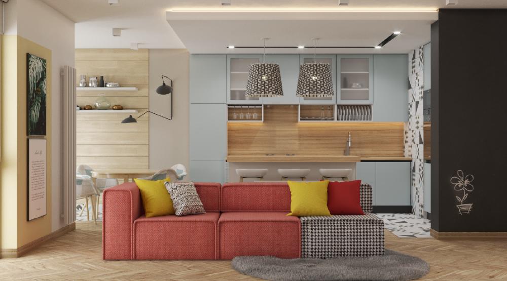 北歐風極簡主義公寓 的設計12425815