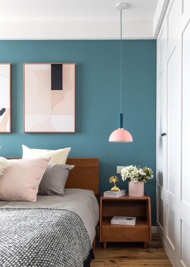 89m2 | 客厅做全面墙书柜+隐形门12480177