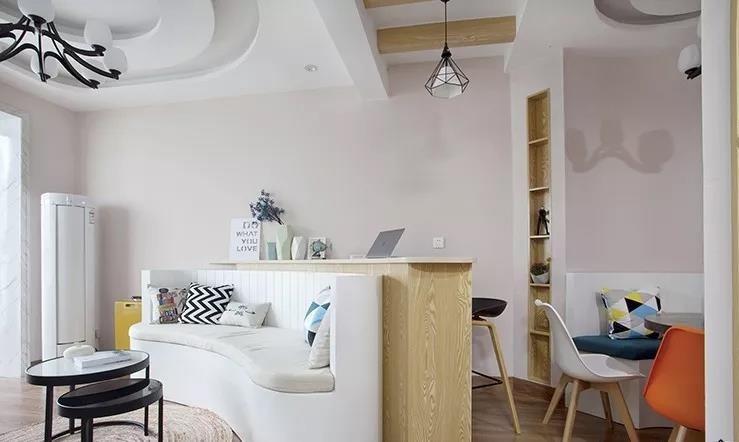 48㎡现代田园风单身公寓,温馨舒适12511588