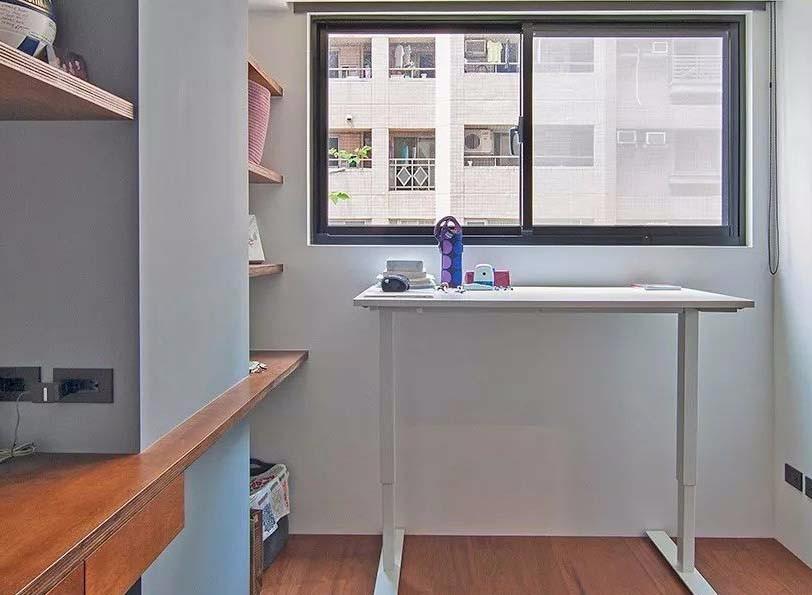 70平工業風個性三居單身公寓12542341