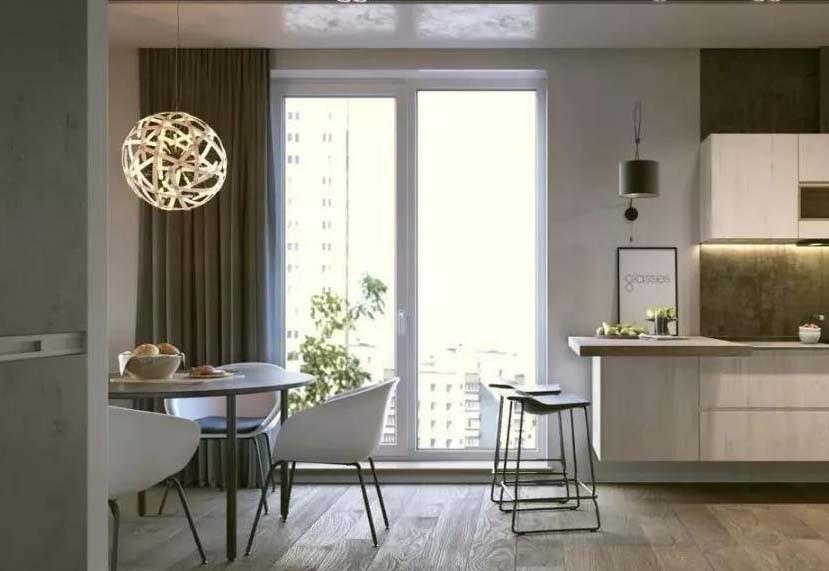 60平米北欧风格一室一厅12546526