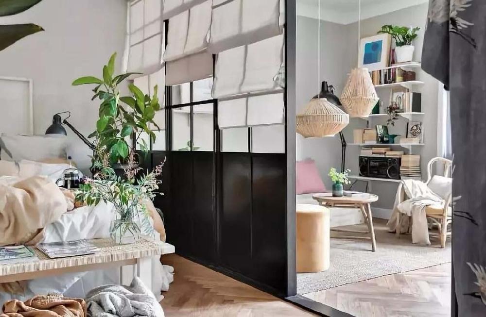 50平方北欧风单身公寓12595152