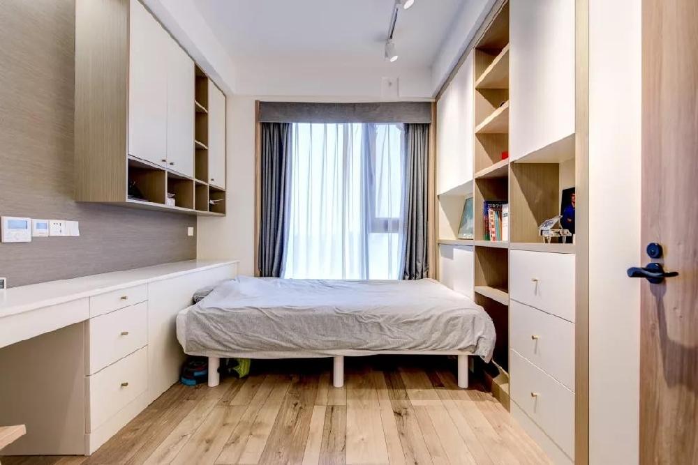 102㎡舒适北欧,电视背景墙还能这样设计12665570