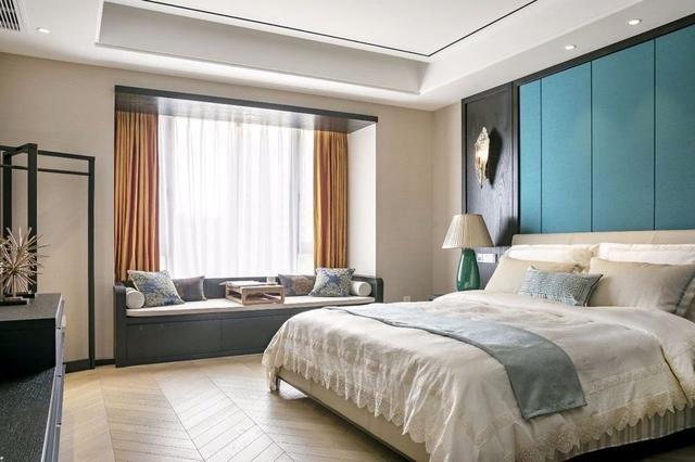 200平新中式大平层,中式屏风+六角窗12783809