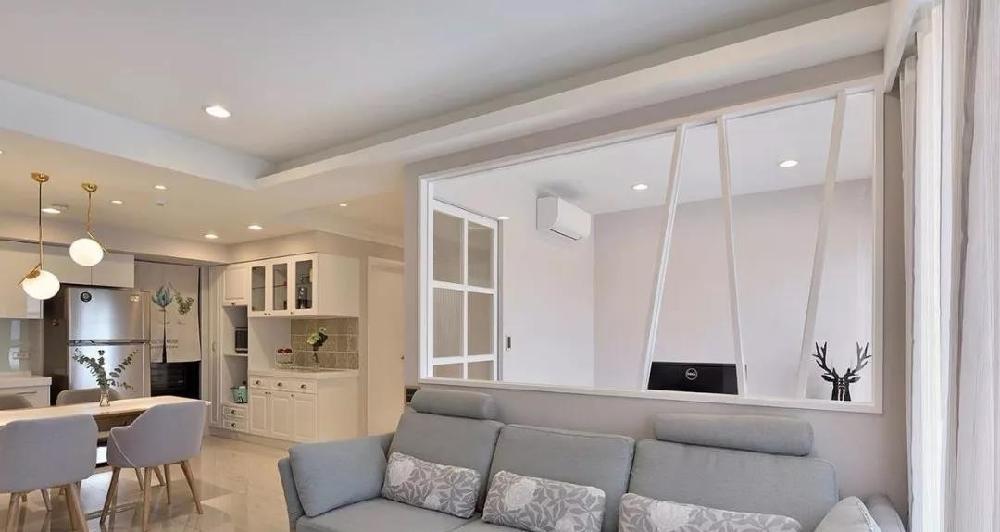 100平兩居室玄關溫馨迷人,客廳更是漂亮12781419