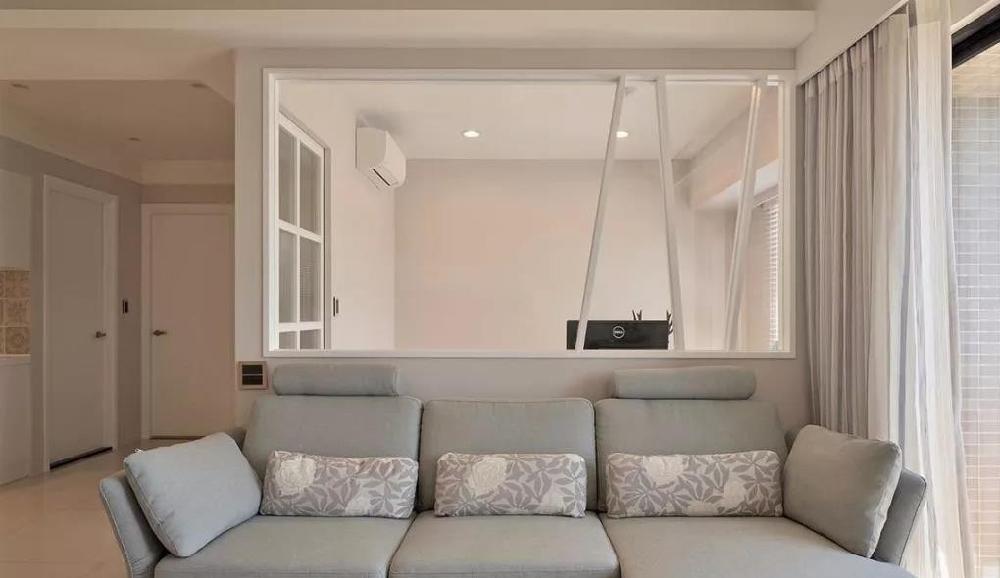 100平兩居室玄關溫馨迷人,客廳更是漂亮12781418