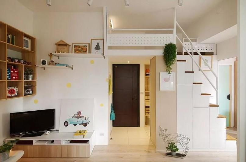 50㎡小公寓復式樓清新簡約12905387