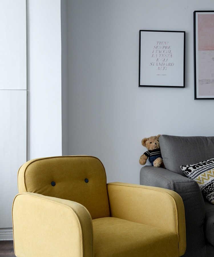 北欧风格三居室,一种宁静中的惬意13011273