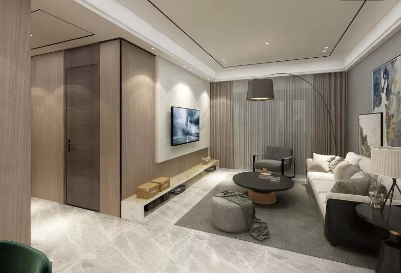93平方现代简约三室两厅13251270