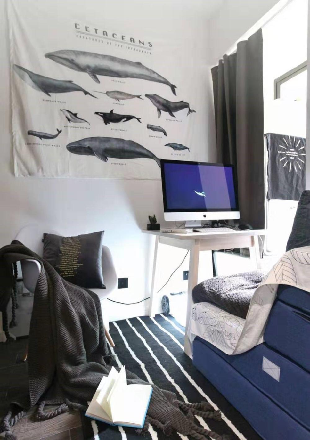 54平米的一居室,北欧风格13244857