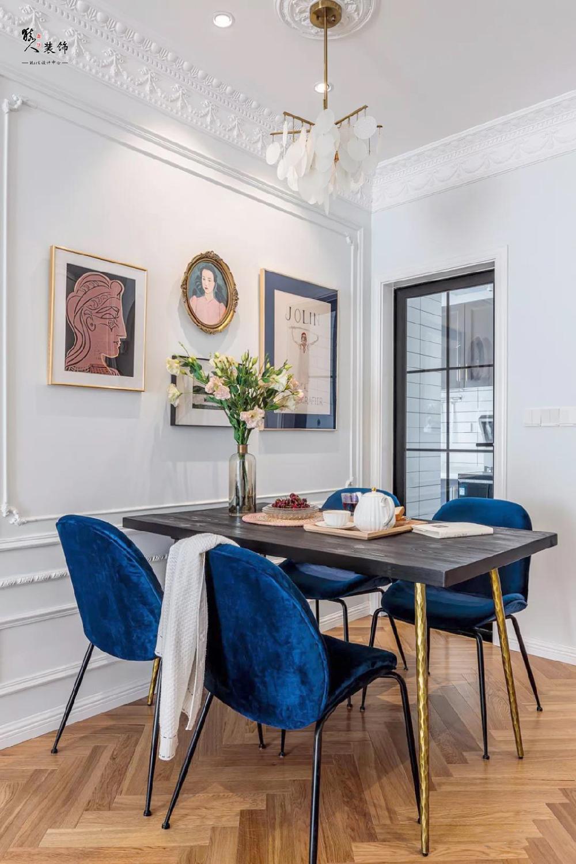 70平法式兩居,輕奢、復古、現代元素13262139