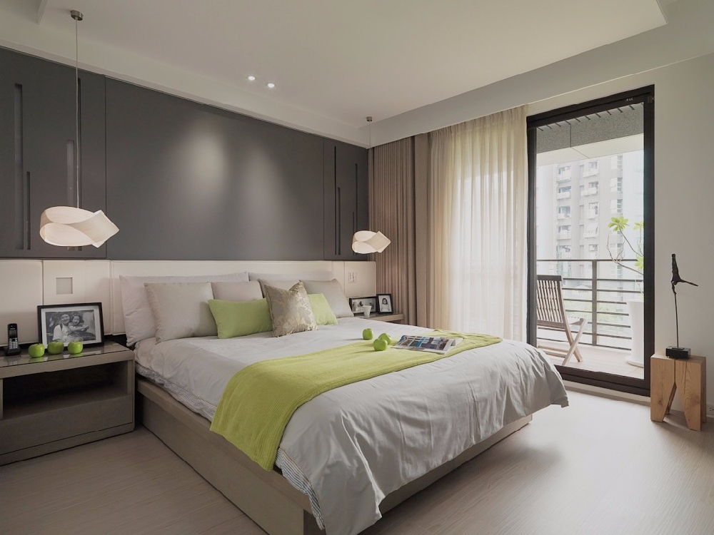 现代简约风格装修,高级灰的简约客厅背景墙13380398