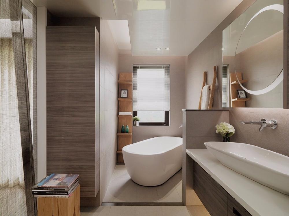 現代簡約風格裝修,高級灰的簡約客廳背景墻13380400