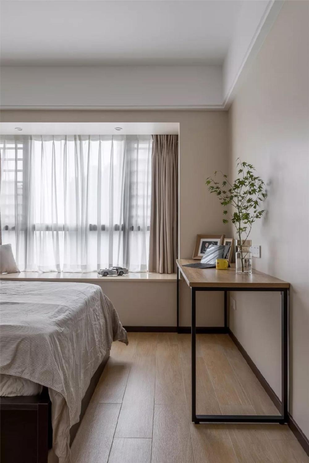 96㎡现代简约,玄关旁做个走廊+卫生间13454681