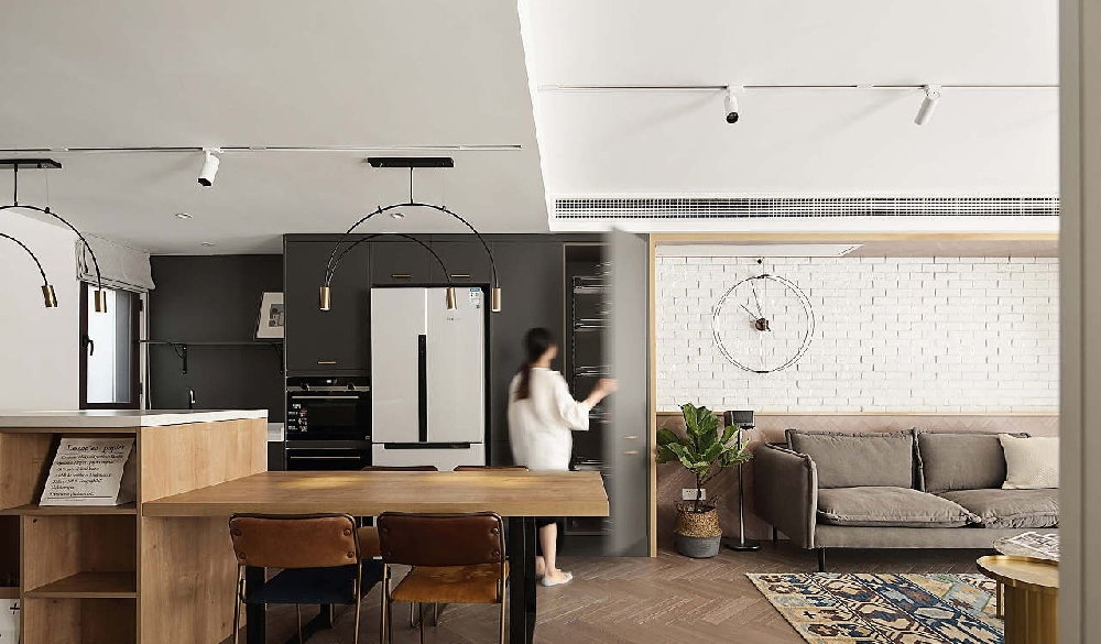 現代簡約復式住宅設計!13542555