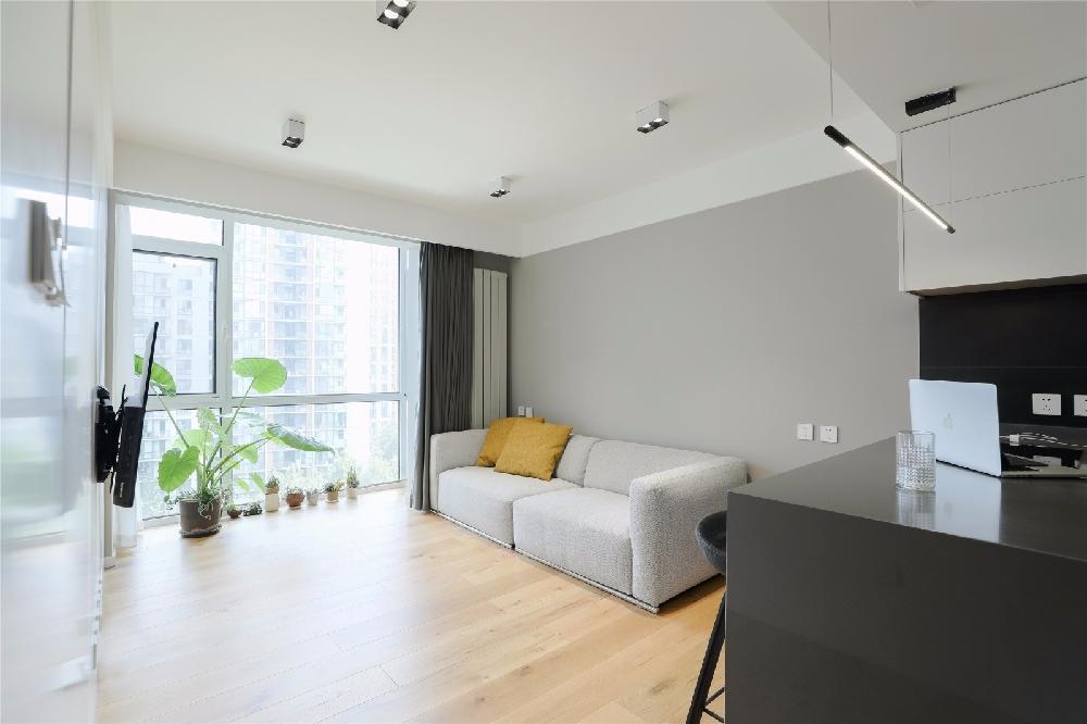 开放厨房、隐形门高品质独身公寓13607107