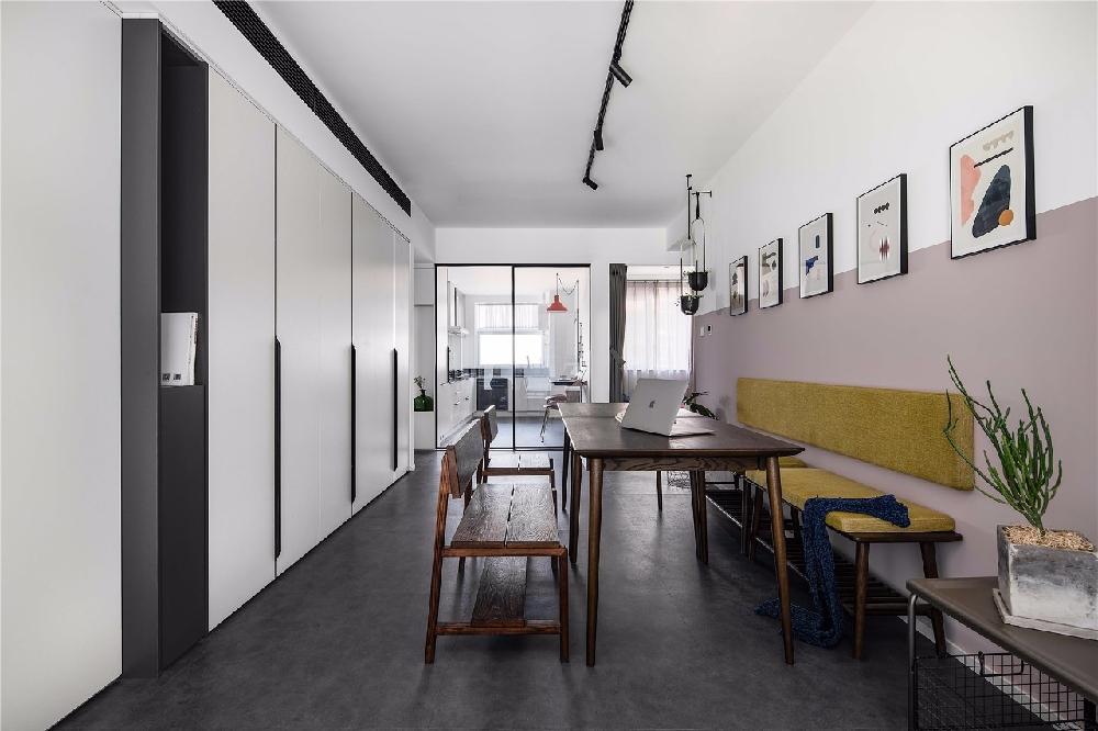 80㎡現代時尚小三房,多功能客廳好實用!13760207
