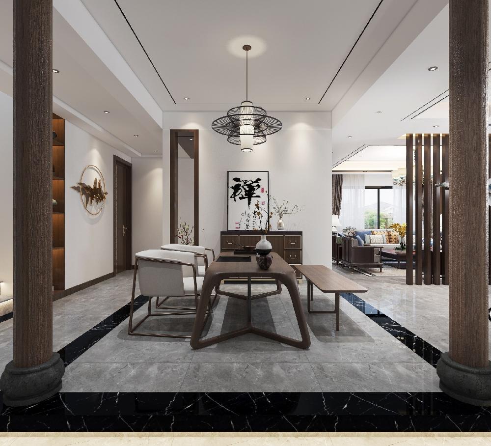340m²新中式别墅,唯有艺术才高级!13846667
