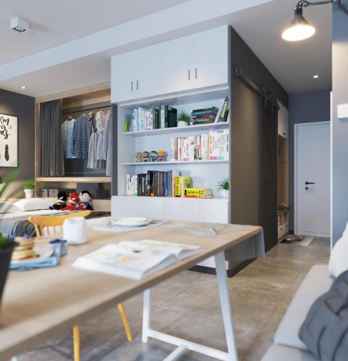 50平小公寓簡歐風格13867986