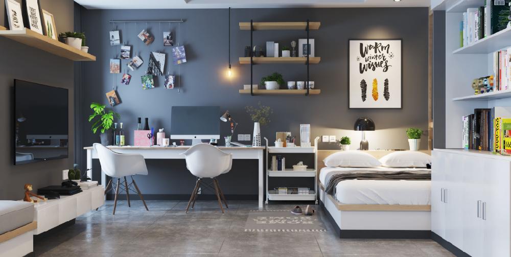 50平小公寓简欧风格13867980
