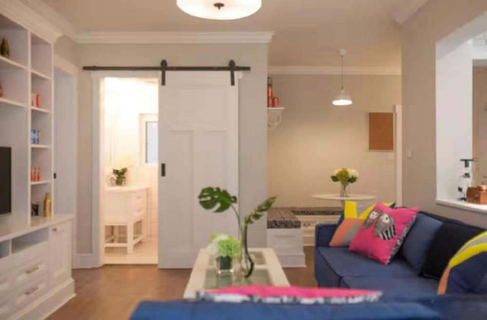 52平米的二居室,美式风13876347