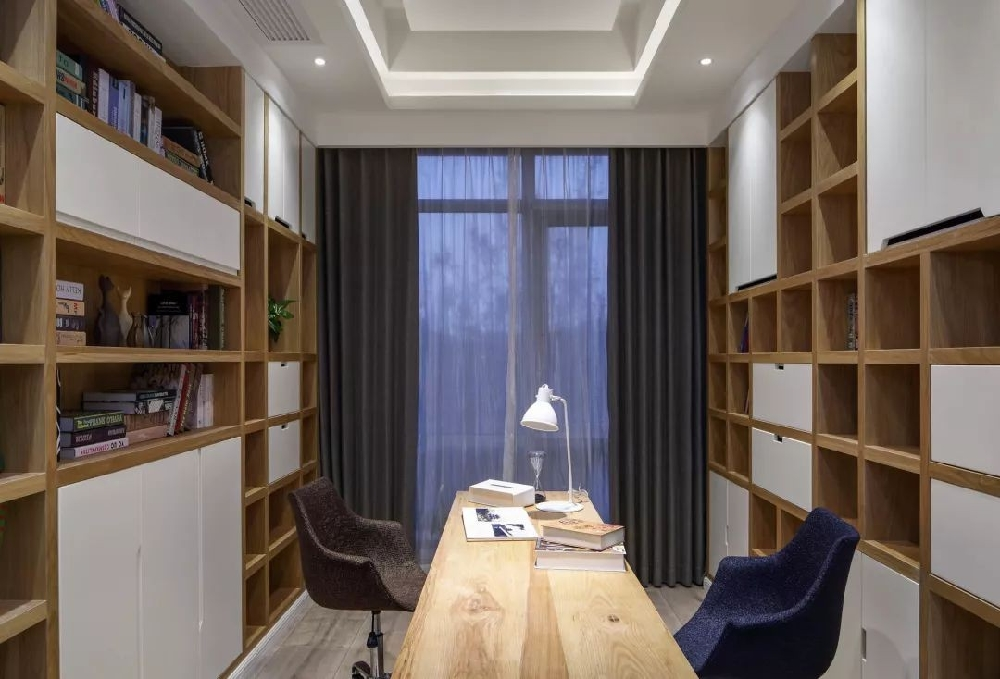 190㎡简约,收纳柜做在走廊,实用美观13896211