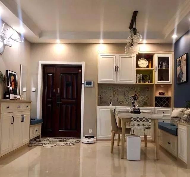 兩居室婚房裝修案例,不僅溫馨還很有趣味13909683