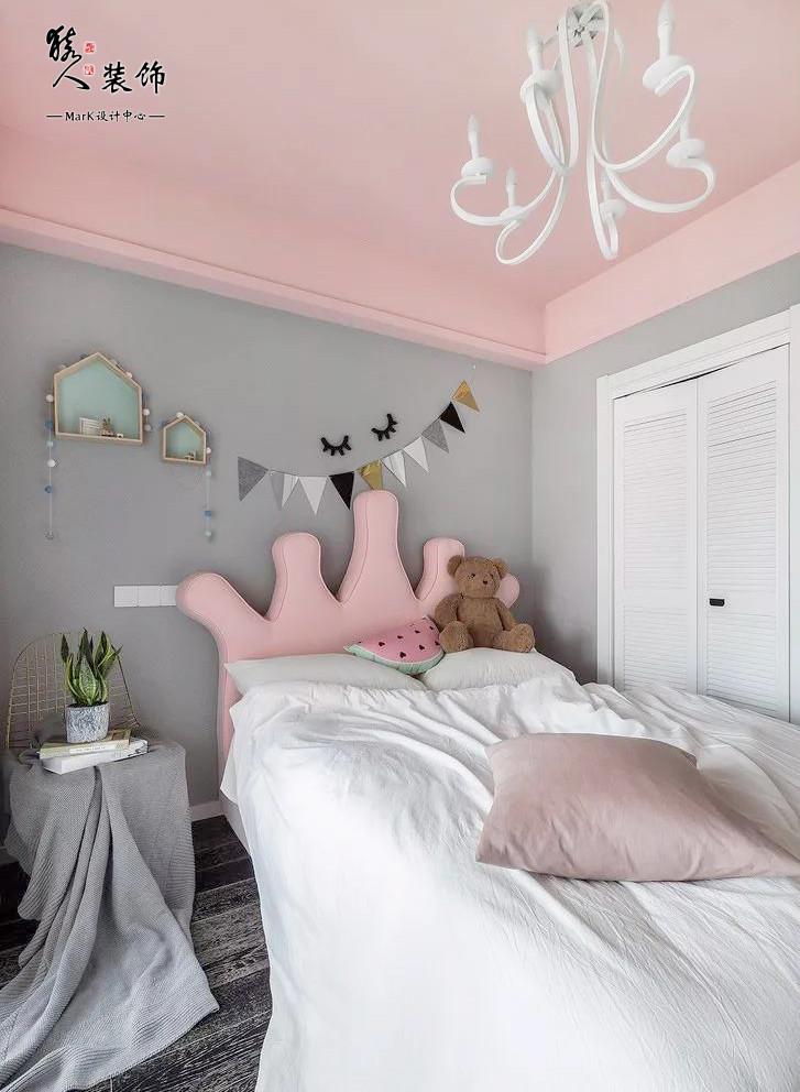 108㎡现代简约三居,卧室背景墙太赞了!13953846