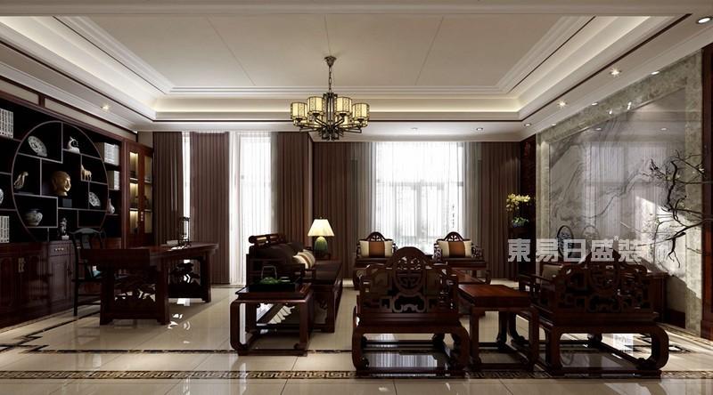 梅溪湖壹號1300㎡新中式風格別墅13972260
