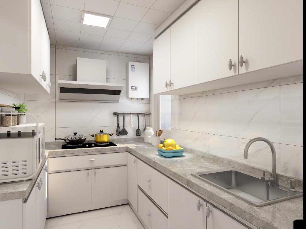 60平米老房改造,現代簡約風格14004280