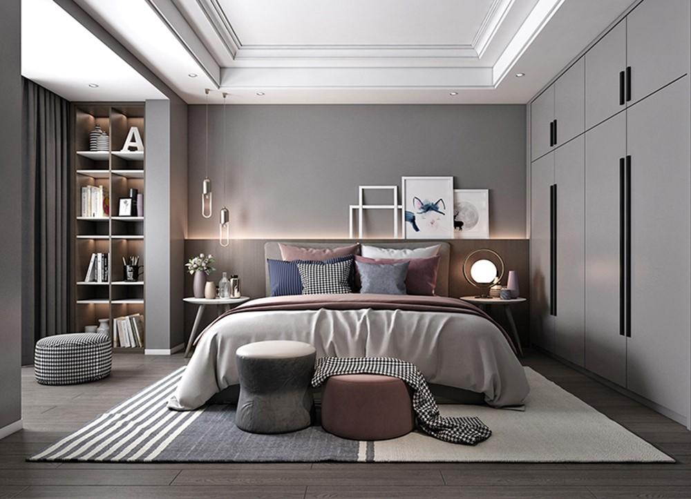 140平米 现代风格 三室两厅两卫14031249